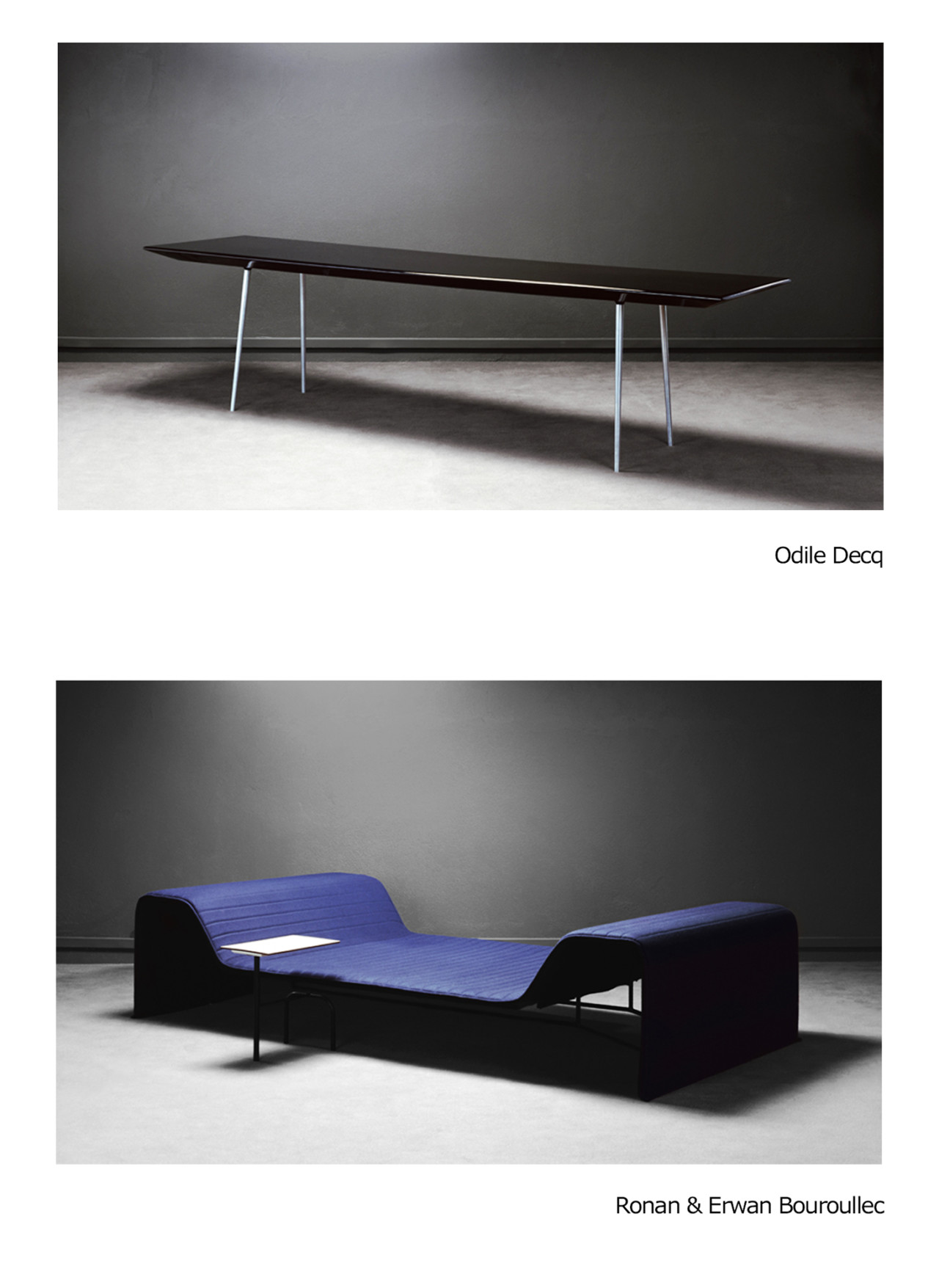 Patrick Gries furniture by designers & artists